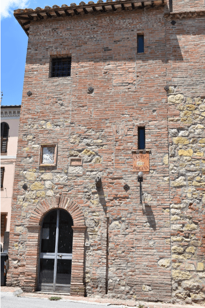"""Sanfatucchio, antico posto di """"Dogana"""""""