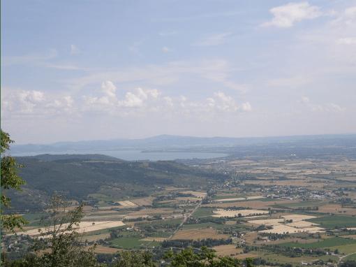 Vista del Lago Trasimeno